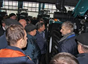 The governor of Poltava region and more than 40 heads of agricultural enterprises visited KhTZ