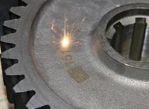 ХТЗ ввёл в эксплуатацию лазерный комплекс для маркировки запчастей