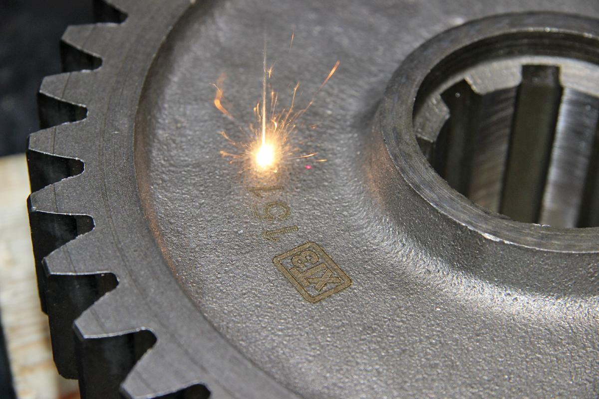 XTZ commissions a laser complex for marking spare parts
