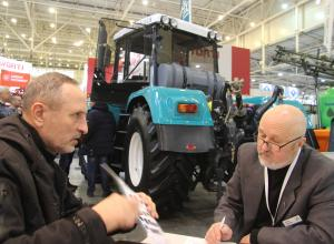 "Kharkov Tractor Plant took part in the international exhibition ""Grain Technologies"""