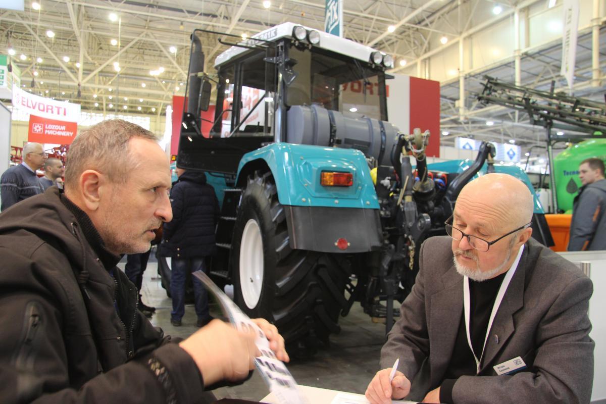Харківський тракторний завод взяв участь у міжнародній виставці «Зернові технології»