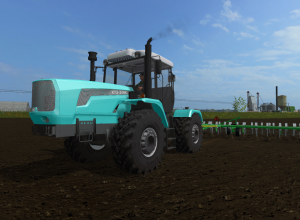 XTZ tractors conquer the virtual world