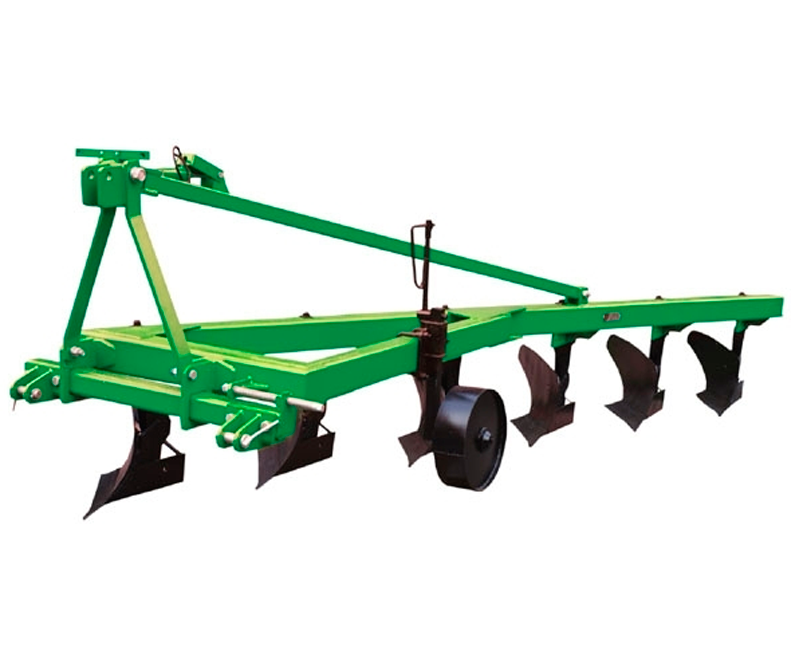 Mounted furrow plow PNV-6.35 with trashboard