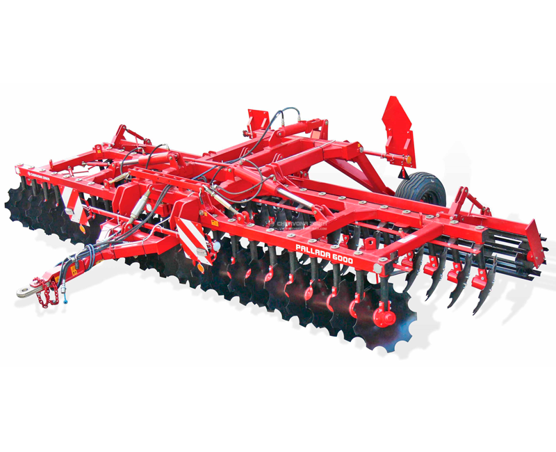 2-row disc harrow Pallada 6000