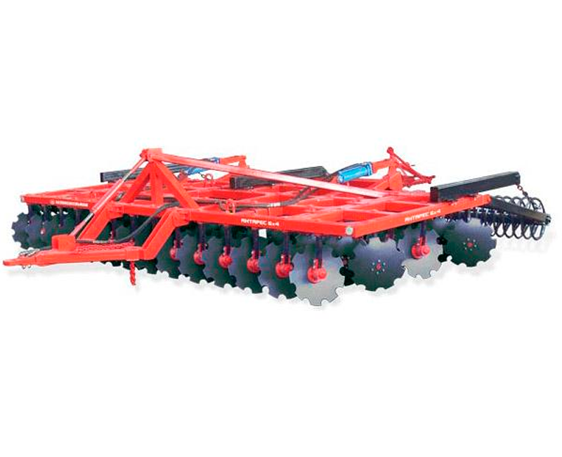 4-row disc harrow Antares 4x4