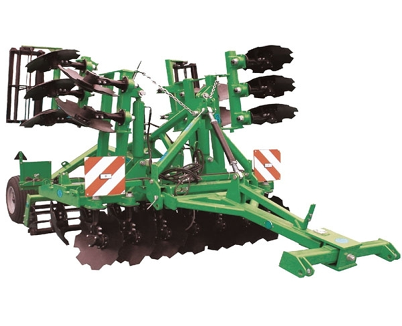 Semi-mounted tillage machine AGM 4.2