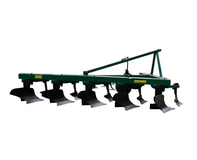 Single-furrow mounted plow PNV-5.35 with a jointer