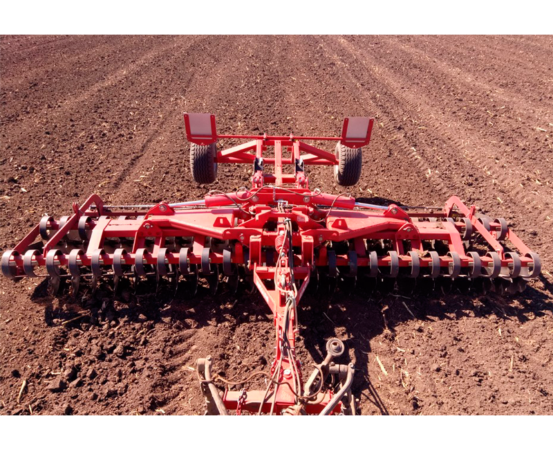 Short disc harrow-cutter Dukat