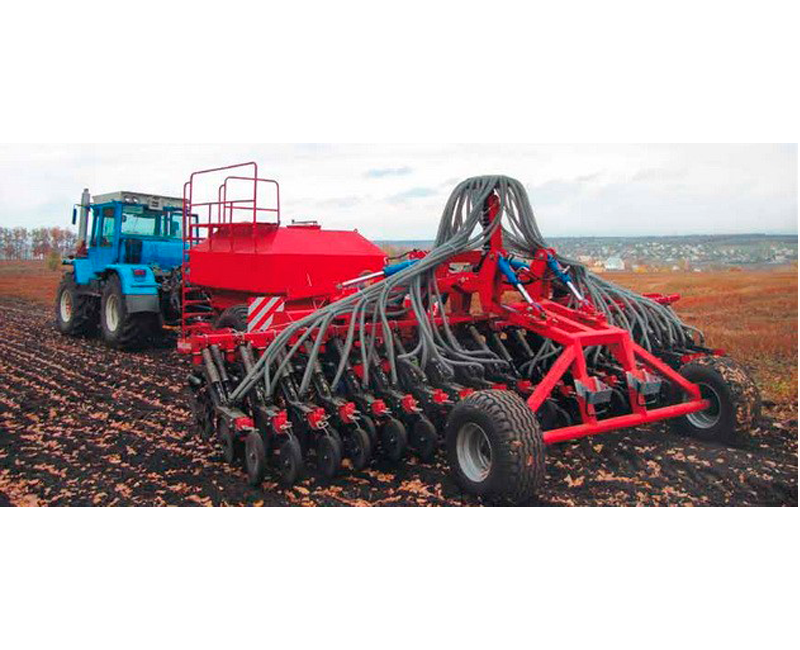 Straight seeding attachment to seeders Krona
