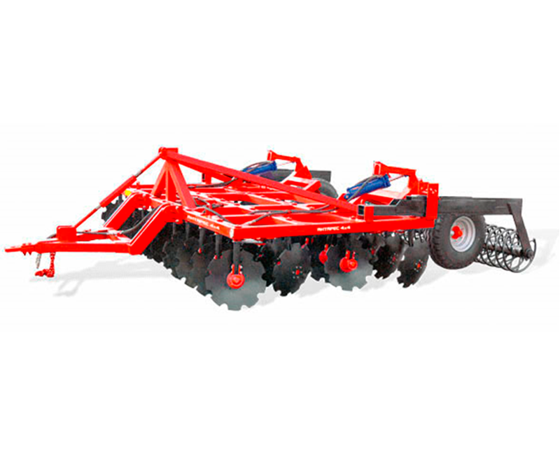 4-row disc harrow Antares 3x4