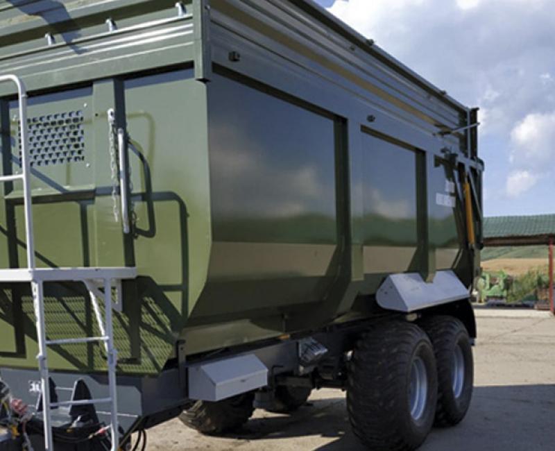 TSP-20 dumping trailer